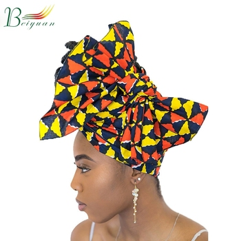 Hot New Print Ladies Headscarf Hat African Head Scarf