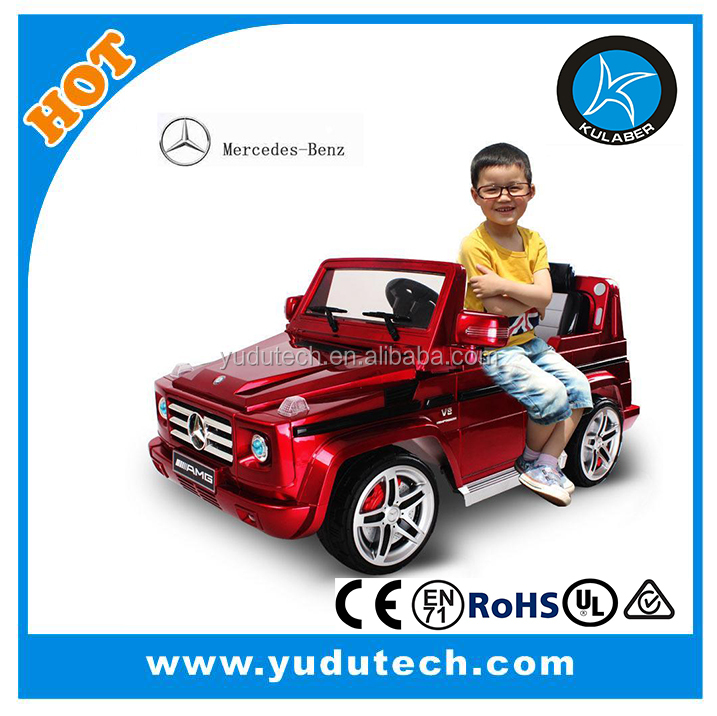 License Mercedes-Benz G55 ,remote control baby electric car,kids battery powered Mp3 2.4G bluetooth remote control ride on toys