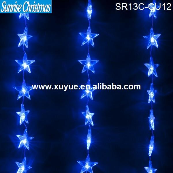 Decorative Lighted Beads Curtains,Christmas Lighting