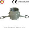 factory direct stainless camlock fitting/camlock coupling type D for hose pipe