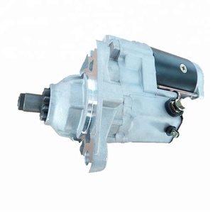 Starter Motor 228000-6390 For Excavator 4Ct/6Ct Engine Starter Parts