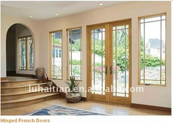 European style pvc hinged french doors manufacturer in for European french doors