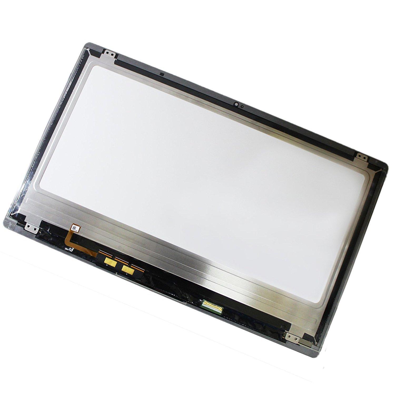 "Vtekscreen New 15.6"" Touch Laptop LCD IPS Screen B156HAN01.2 + Glass For Acer Aspire R7-572"