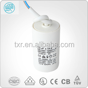 Start-up and Running Capacitor for Micro Water Pump, Cleaning and Washing Machine,micro capacitor