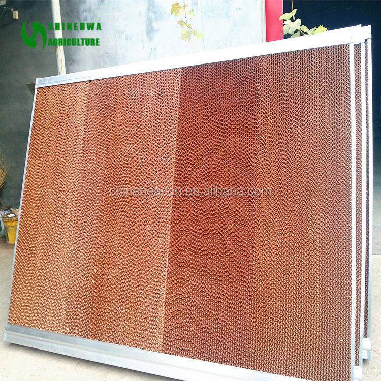 2017 China Supplier Commercial Greenhouse Cooling Cell Pad