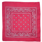 OEM 55*55cm Cheap Custom Bandana Printing 100% Cotton Square Fashion Bandana