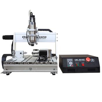 Universal 6040z-s Four-axis Mini Cnc Mill Machine - Buy Mini Cnc Mill  Product on Alibaba com