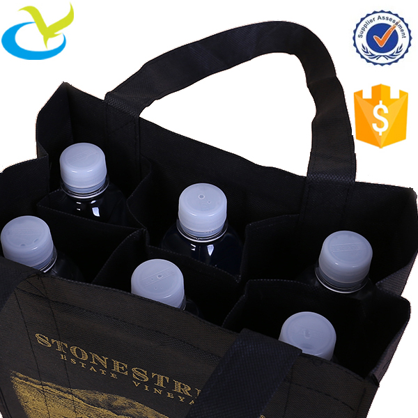 Durable in use wine bag holder wine bottle holder