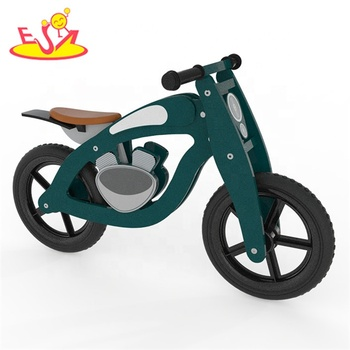 hot sale kids wooden bike,popular wooden balance bike,new fashion kids bike W16C157