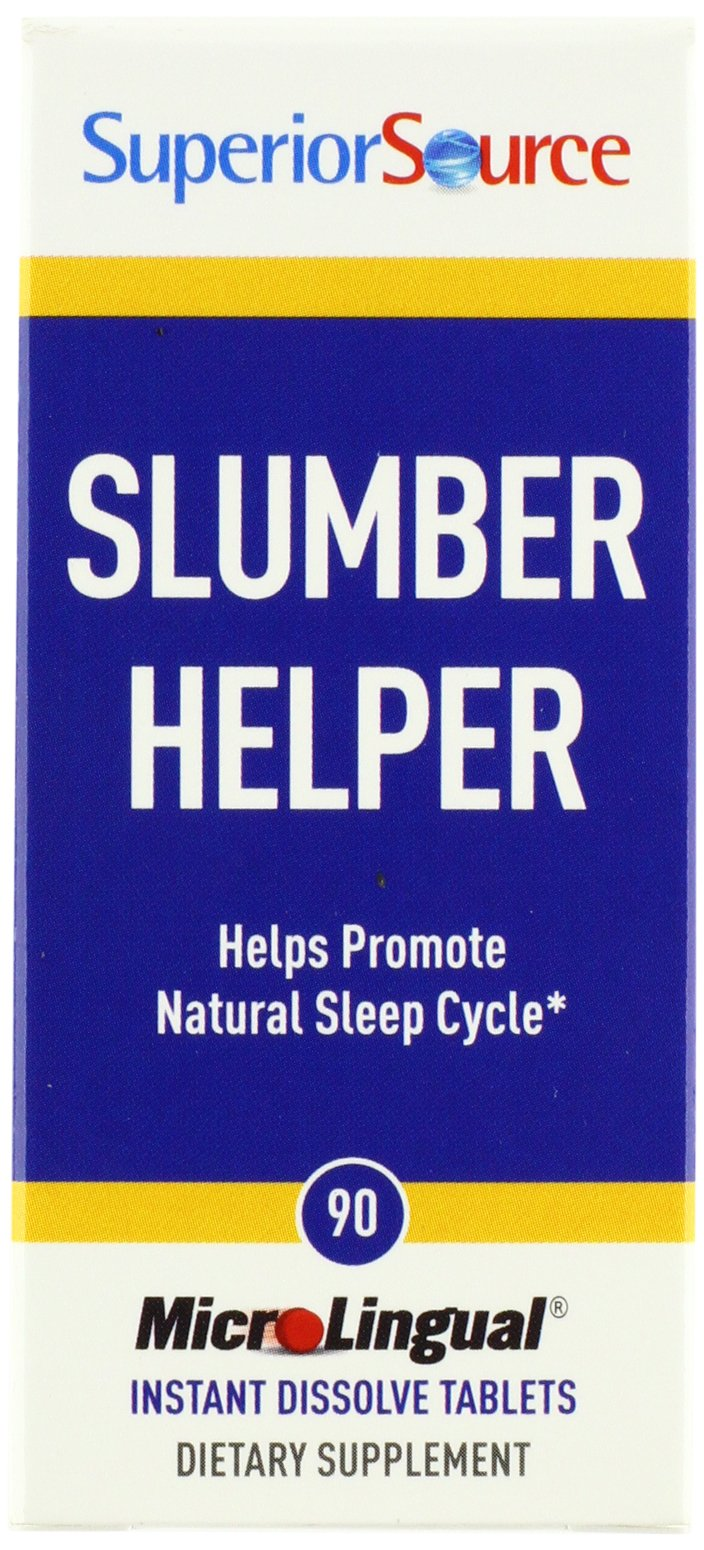 Superior Source Slumber Helper Nutritional Supplements, 90 Count