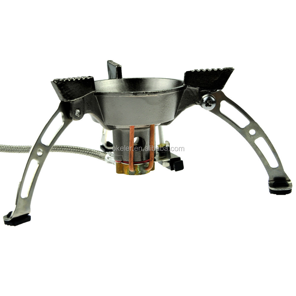 2015 Cheap Outdoor Picnic Windproof Energy Saving portable gas stove for camping