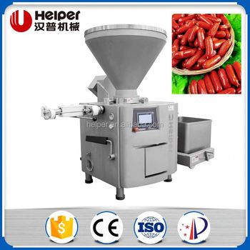 Automatic sausage packaging vacuum stuffer filler machine