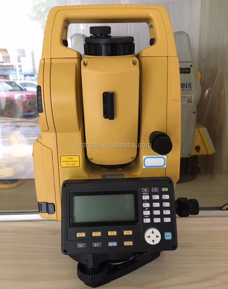 Optical plummet gts1002 land survey equipment topcon robotic total station with unique technology