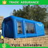Customized portable inflatable paint booth for sale