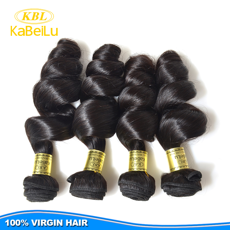 Wholesale loose wave 6 inch bebe curl human hair extension, new coming 4 flowers hair weaves