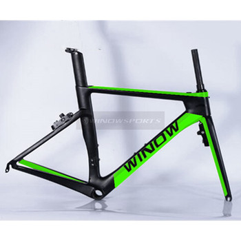 2017 taiwan newest Toray T800 UD weaves carbon road bike frameset:Frame+Seat post+Fork+Clamp+Headset