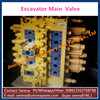hydraulic excavator main control valve for komatsu PC200-7 723-46-20402