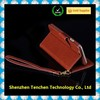 Wholesale leather for iPhone 6 wallet case cell phone case