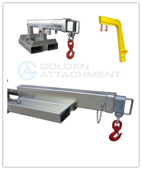 forklift crane jib attachments