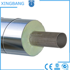 aboved ground galvanized iron jacket preinsulated steel vent pipes