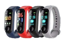 "0.96"" TFT Color Screen Heart Rate Monitor Smart Bracelet/Smart Wristband/Sport Smart Watch M3"