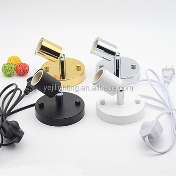 Lighting accessories e27 socket lamp holder dimmer switch with lighting accessories e27 socket lamp holder dimmer switch with electrical power cable wire for table lamp greentooth Image collections