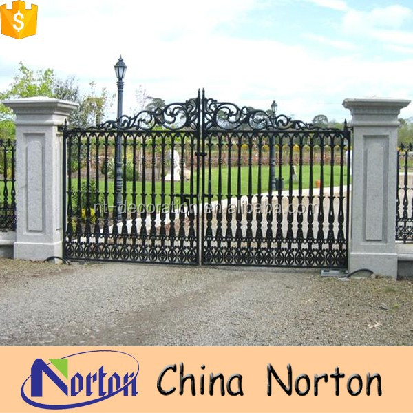 Iron Pipe Gate Design Steel Main Gate Design Wrought Iron Gate ...