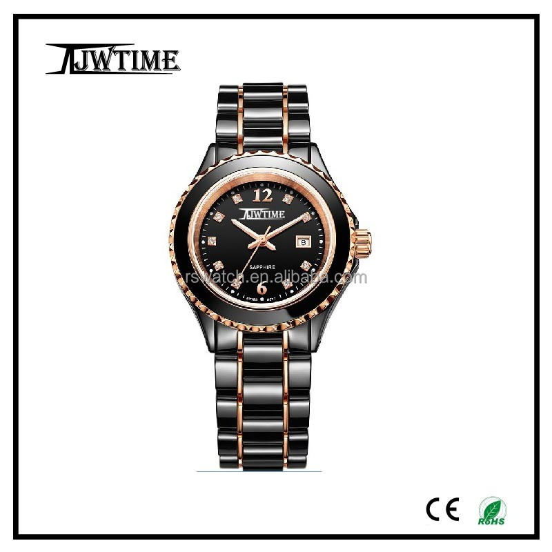 new desig rotate dial custom watches good quality sapphire crystal watch glass