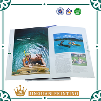 Professional high quality custom advertising coloring catalogue printing magazine