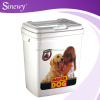 Cheap 15KG plastic pet food storage container