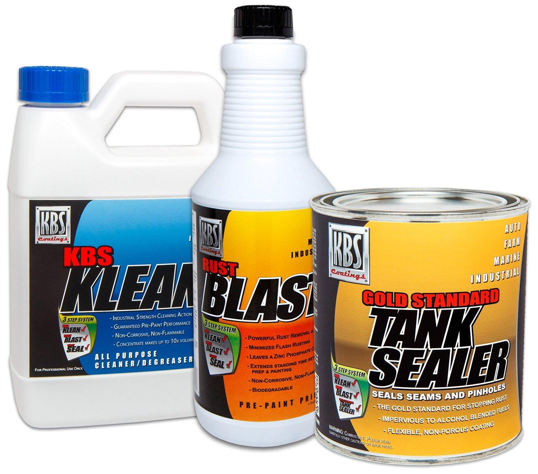KBS Coatings 53000 Auto Fuel Tank Sealer Kit