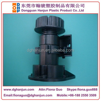 Hjf-085a Plastic Adjustable Cabinet Leg/leveling Feet +drill ...