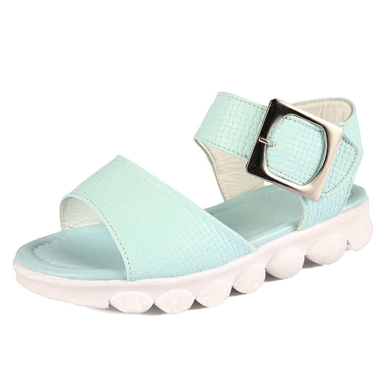 YIBLBOX Toddler Little Kids Girls Soft Sole Flat Beach Shoes Sandals