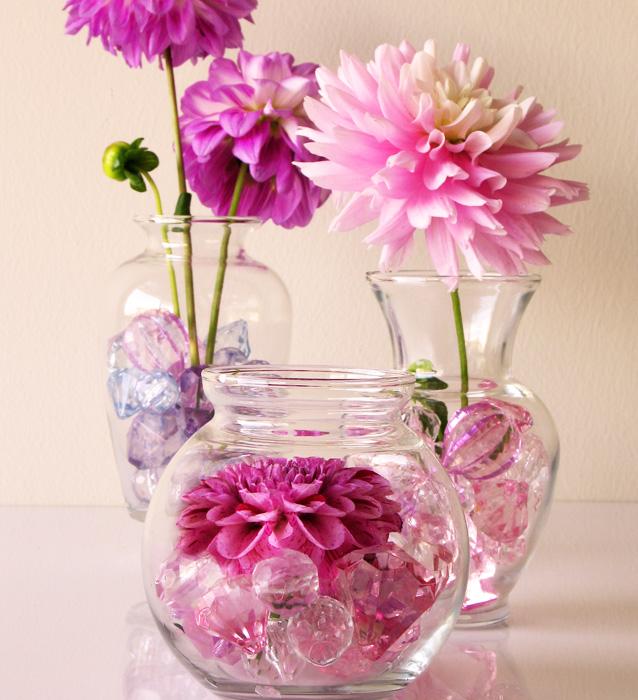 Crystal Diamond Table Decor Vase Filler View Crystal