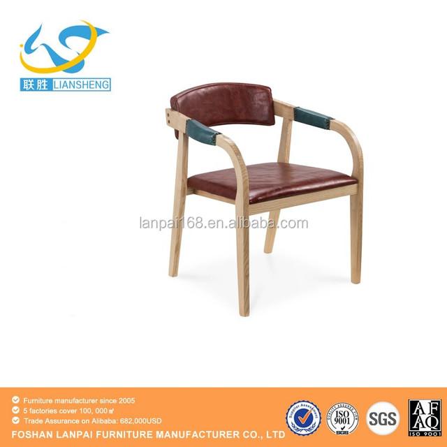 Klassische Luxus Holz Stühle Accent Stühle Wohnzimmer Möbel