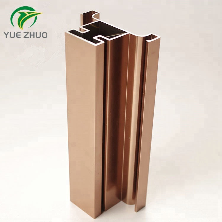 bulk purchasing kitchen aluminum extrusion profiles cabinet 6063 t5