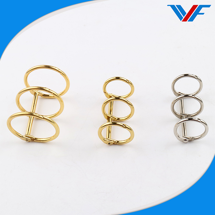 Office stationery metal table calendar binding ring