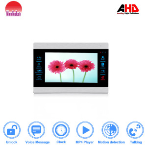 doorbell Dual way Door Talking Video Intercom System Support Remote unlocking Recording Snapshot