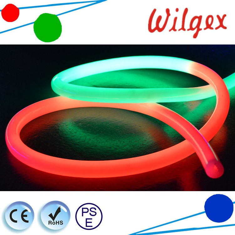 360 Degree Outdoor Rgb Color Changing Led Solar Rope Light