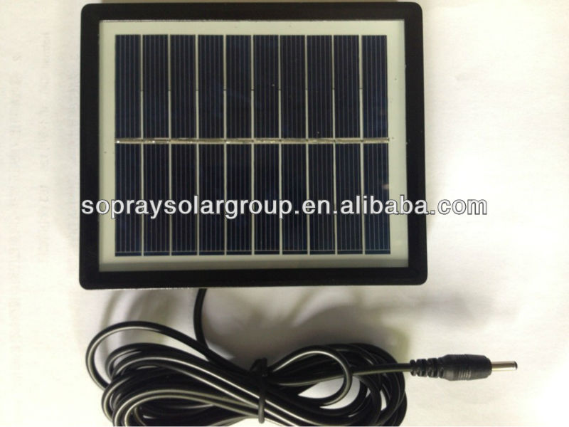 2015 newest 3W high efficiency small solar panel for toys transparent solar panel