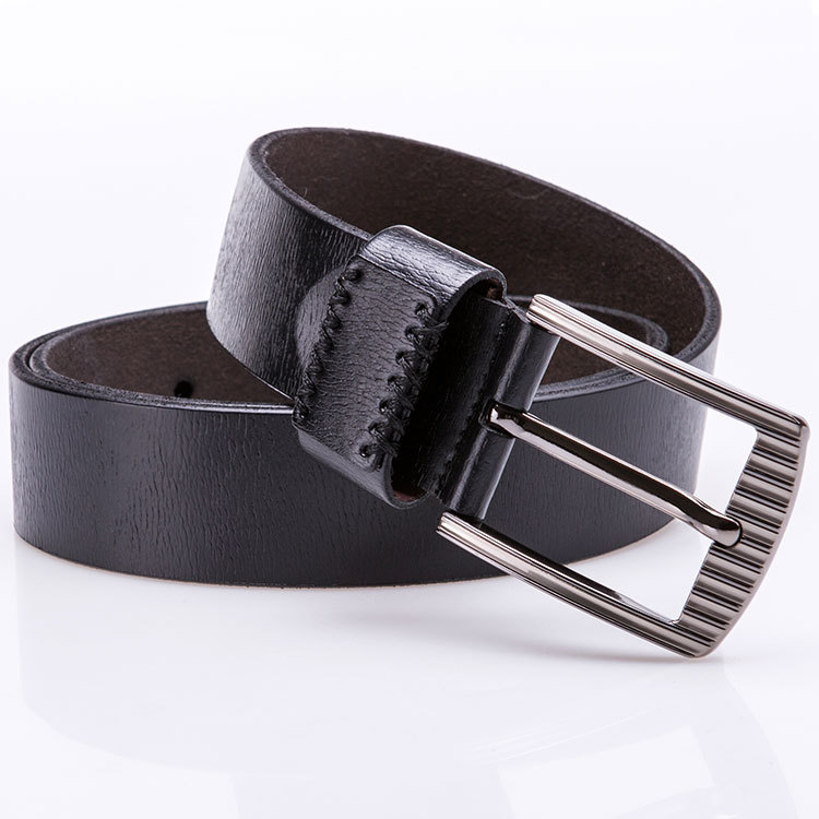 Cowhide Top Grain Leather Belts Grains of Leather Mens Belts Leather Men's Casual Full Grain Leather Belt
