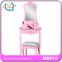 Top quality makeup vanity mirror sets dresser with stool
