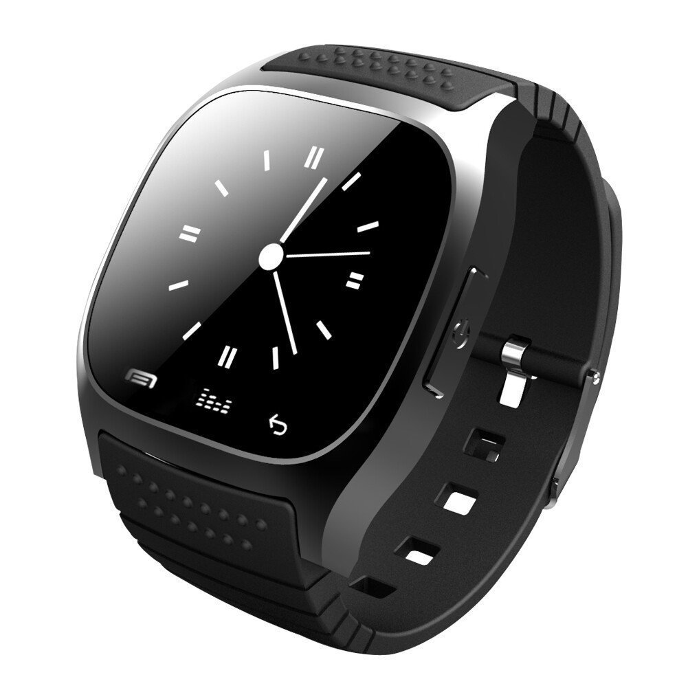 M26 Wearable Smartwatch Smart Bluetooth Watch Touch Screen LED Light Display Watch with Dial Call Answer Music Player Black