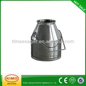 25L stainless steel milk bucket