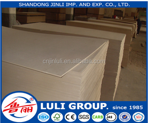 Best price high quality Melamine MDF/ Melamine laminated MDF/Melamine faced panels use for furniture for Iran