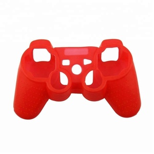 Silicone Shell Housing Protective Soft Case for PS3 Controller