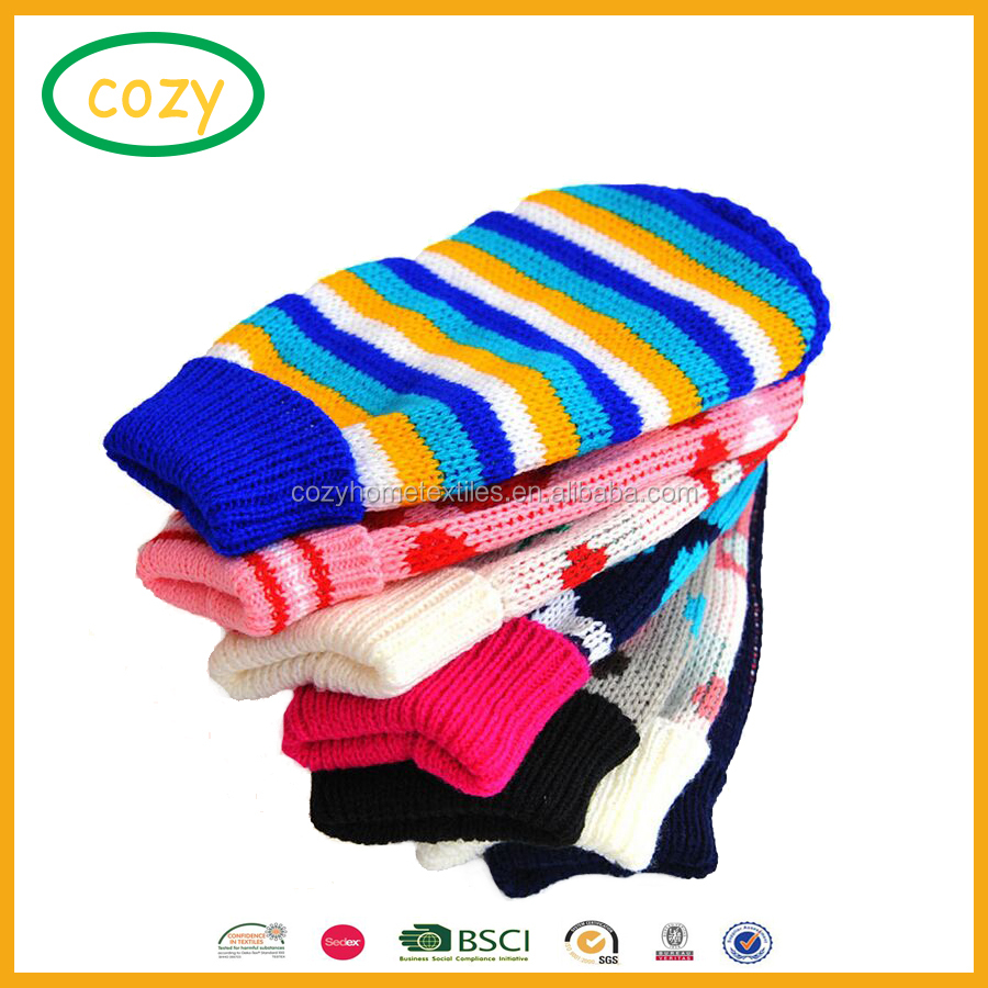 2017 Wholesale Adorable Dog Clothes Christmas Dog Knit Clothes Pet Sweater