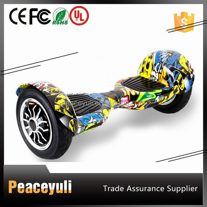 Factory wholesale colorful self balancing scooter 2 wheels 10 inch