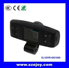 High Resolution HD car front and rear camera 1080p & Built-in G-sensor, GPS logger GS1000