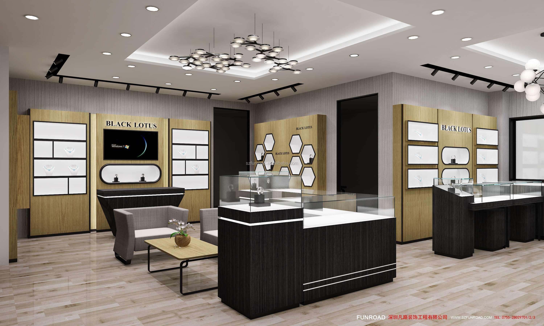 Luxury Modern Jewelry Shop Interior Design In Jewelry ...